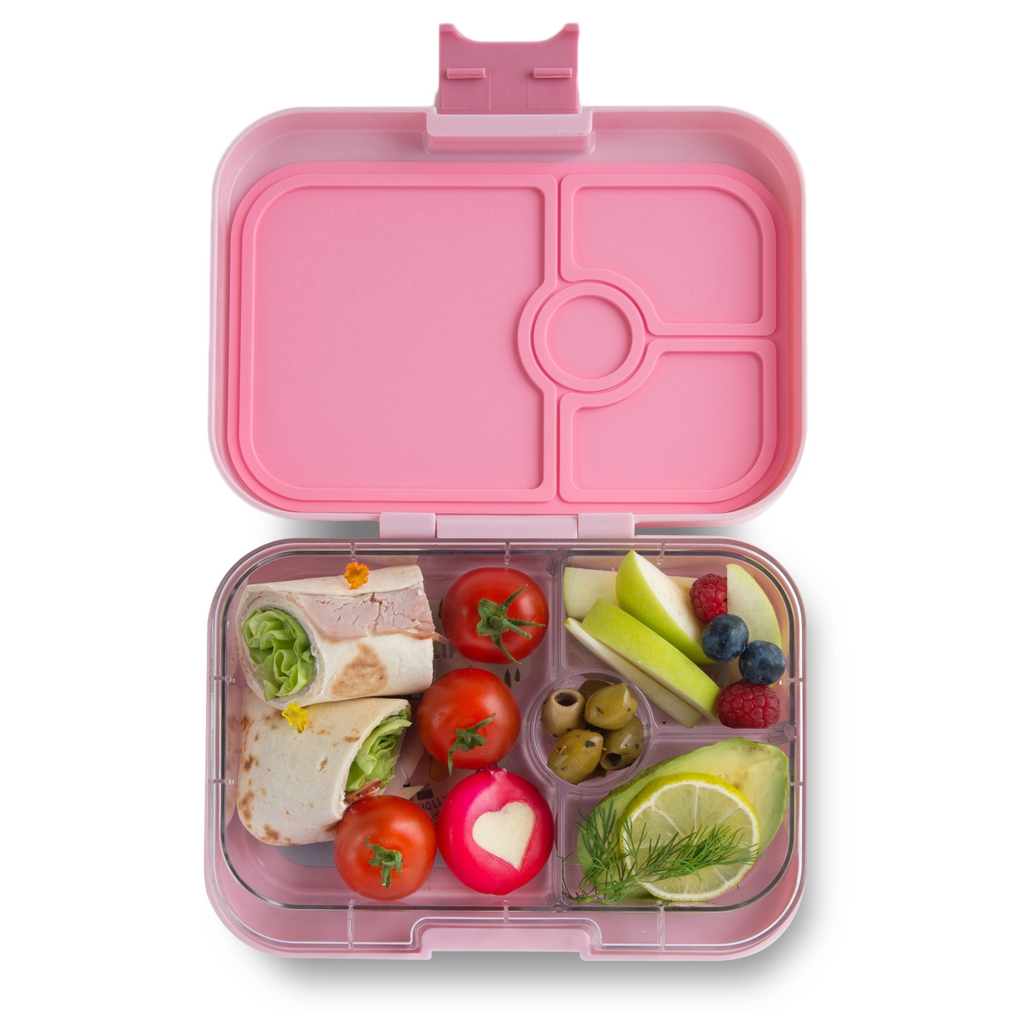 YUMBOX Panino (Hollywood Pink) Leakproof Bento Lunch Box Container for Kids & Adults; Yumbox, Yumbox Panino, leakproof bento, lunchbox portion control, snack box, box, lunch, Bentgo bento box, school