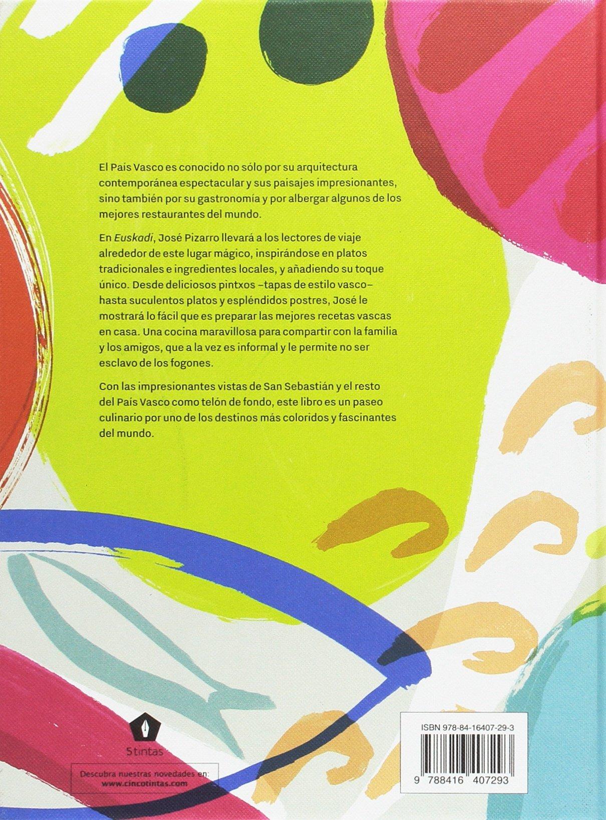 Euskadi (Spanish Edition): José Pizarro: 9788416407293: Amazon.com: Books