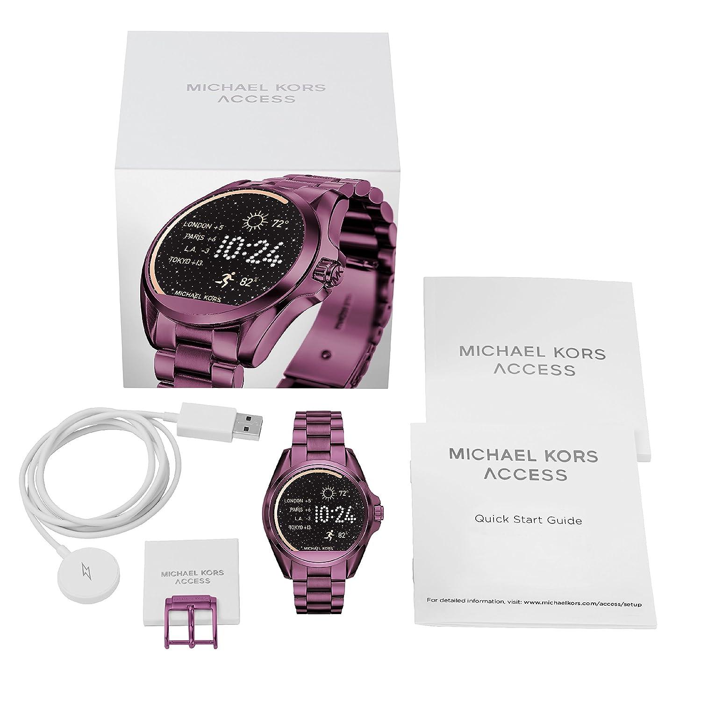 Amazon.com: Michael Kors Bradshaw SmartWatch mkt5017: Watches
