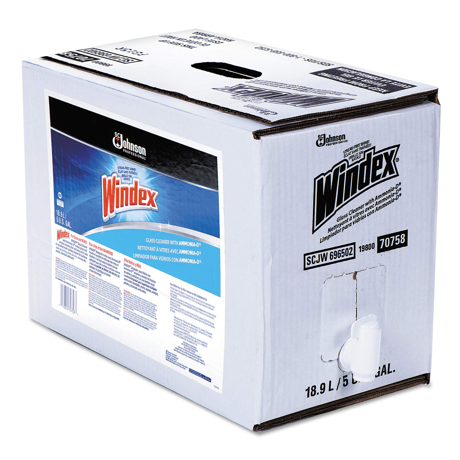 SJN682251 - Windex Powerized Formula Glass/Surface Cleaner
