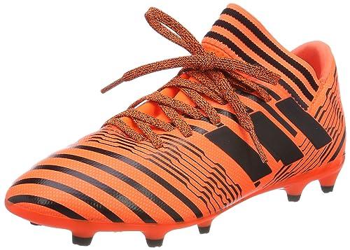 f56922988a78 adidas Nemeziz 17.3 FG Football Boots - Youth - Solar Orange Black - UK Kids