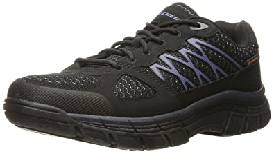 Skechers Work Men's Conroe Dierks Wide Work Shoe,Black,7 ...