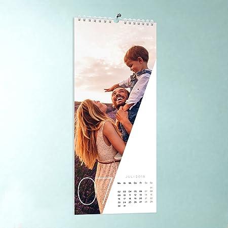 Küchen-Kalender, Quer durchs Jahr, Wandkalender 148x360, Fotokalender 2018