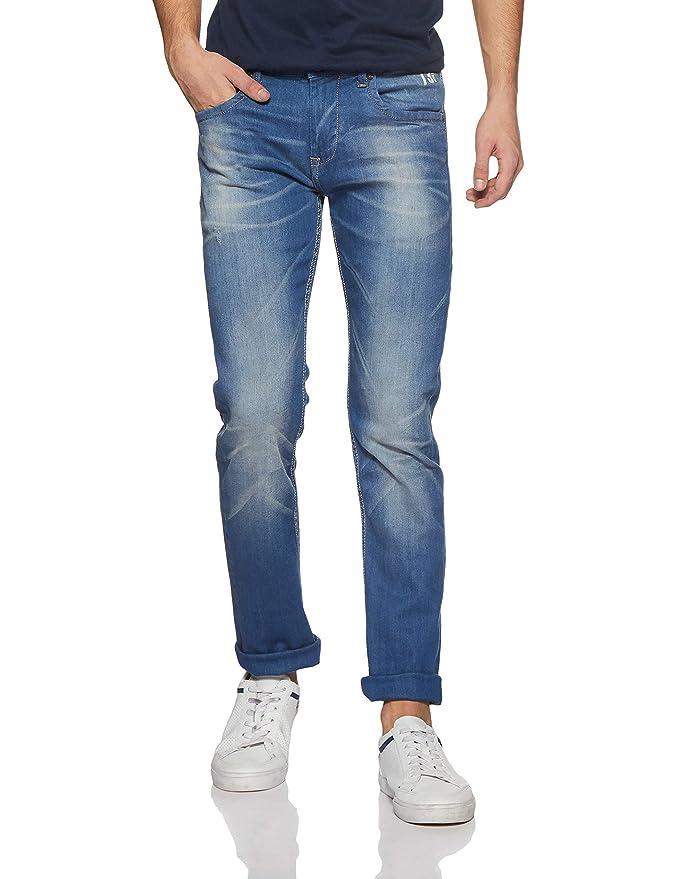 Pepe Jeans Men's Vapour PM201727G214 Slim Fit Jeans Men's Jeans at amazon