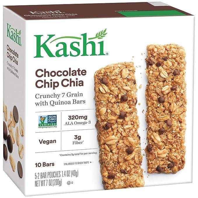 Kashi Crunchy Granola & Bares, Chocolate Chip Chia de ...