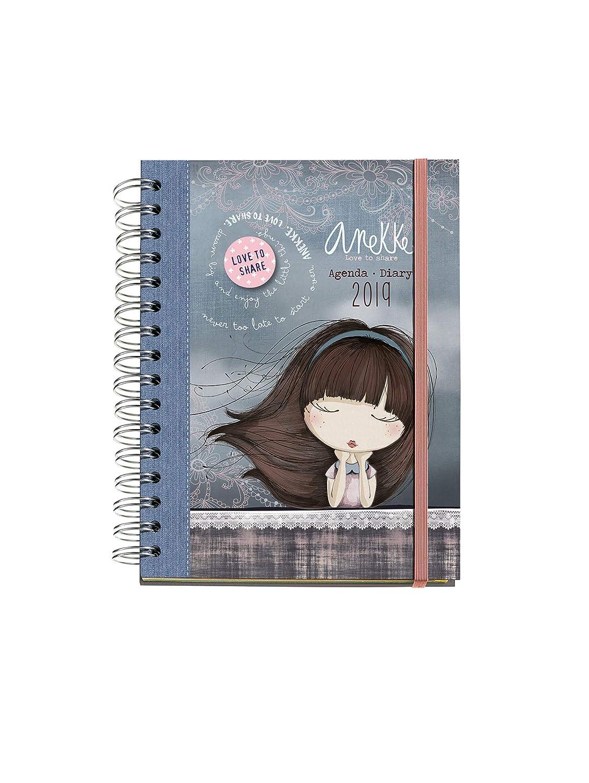 Anekke 36743 - Agenda anual semana vista