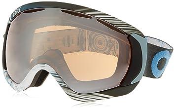 oakley ski glasses xivx  Oakley Canopy Factory Pilot 1242 Ski Goggles, Black/HI Persimmon