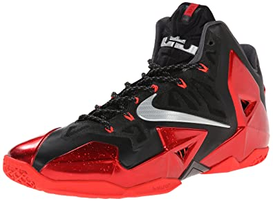best cheap a1036 09b16 NIKE Mens Lebron Xi Black Red 616175-001 10