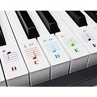 Teclados de piano para teclados 49/61/76/88, transparente