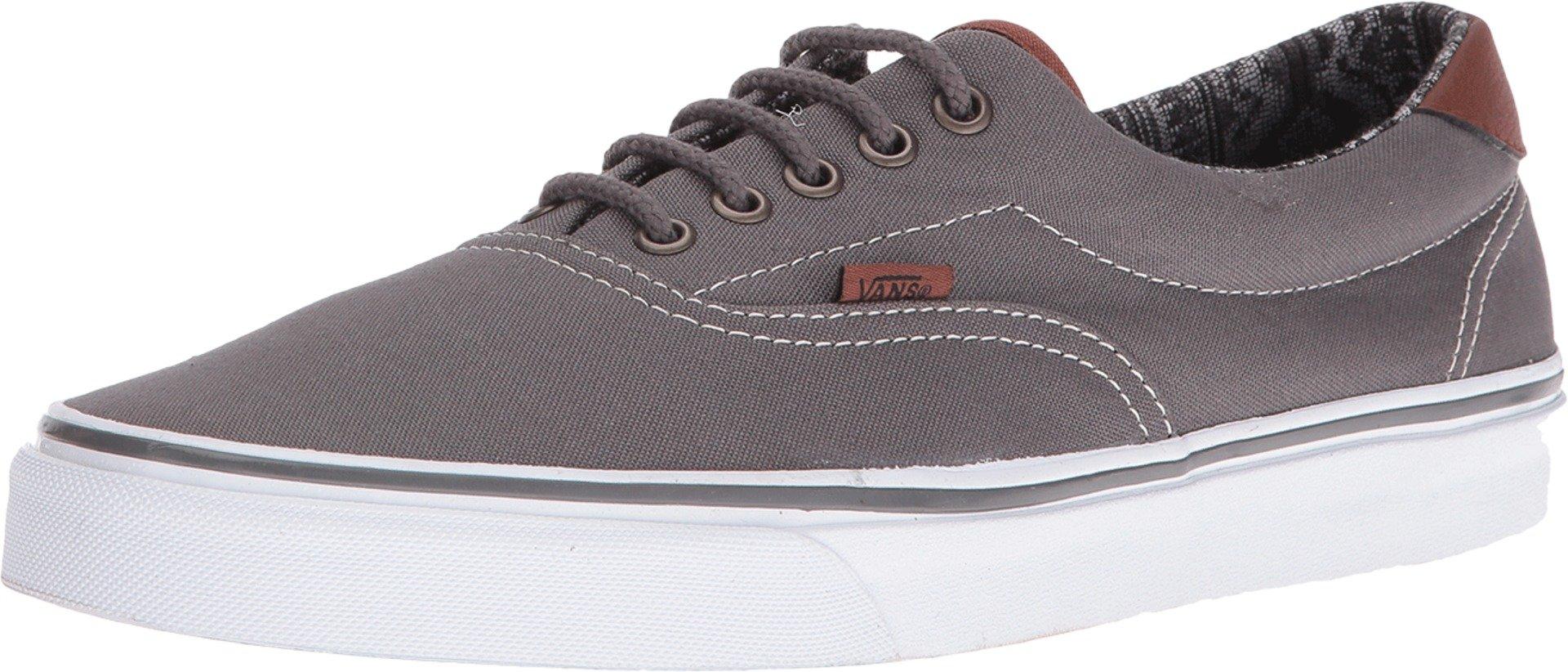 Vans - Unisex-Adult Era 59 Shoes, Size: 4.5 D(M) US Mens / 6 B(M) US Womens, Color: (C&L) Pewter/Italian Weave by Vans