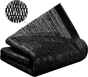 Yardmaker 50% Sun Shade Net Mesh Sunblock Shade Cloth UV Resistant Net for Plants in Greenhouse 10ft x 5ft
