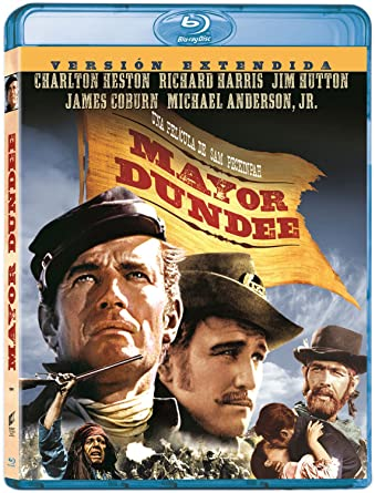 Amazon.com: Major Dundee (Import Movie) (European Format ...