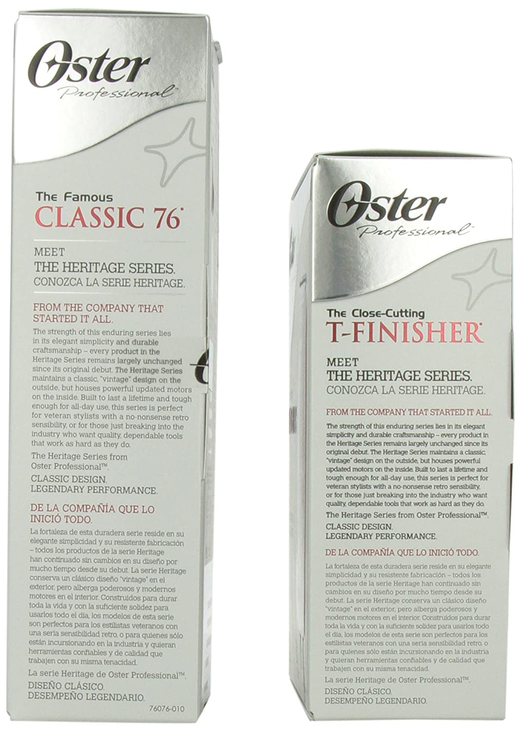 Amazon Oster Clipper 76 And T Finisher Trimmer Combo Beauty