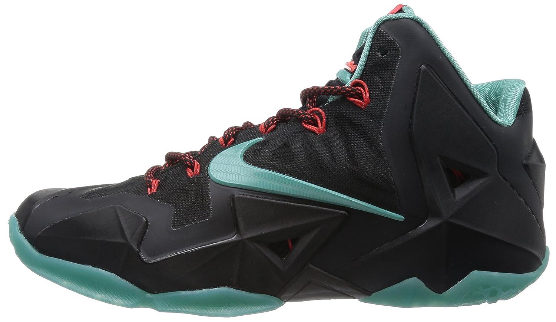 ... Nike Lebron XI, Chaussures de sport homme - Noir (Black/Dffsd Jd/ ...