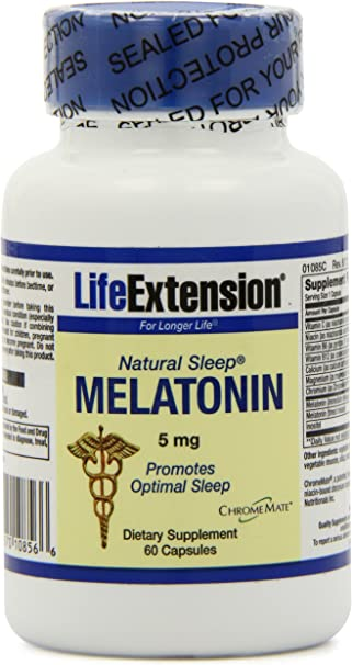 Amazon.com: Vida Extension Natural Dormir Melatonina 5 mg ...
