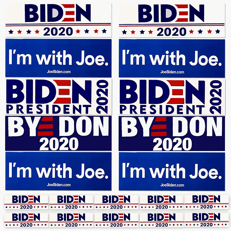 XIMISHOP 20PCS Biden Car Decal Keep America Great 2020 Election Patriotic Bumper Sticker