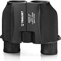 Trailset Binoculars for Adults Compact Lightweight, Binoculars for Bird Watching, Hunting Binoculars Compact Binoculars for Adults, Mini Binoculars for Kids