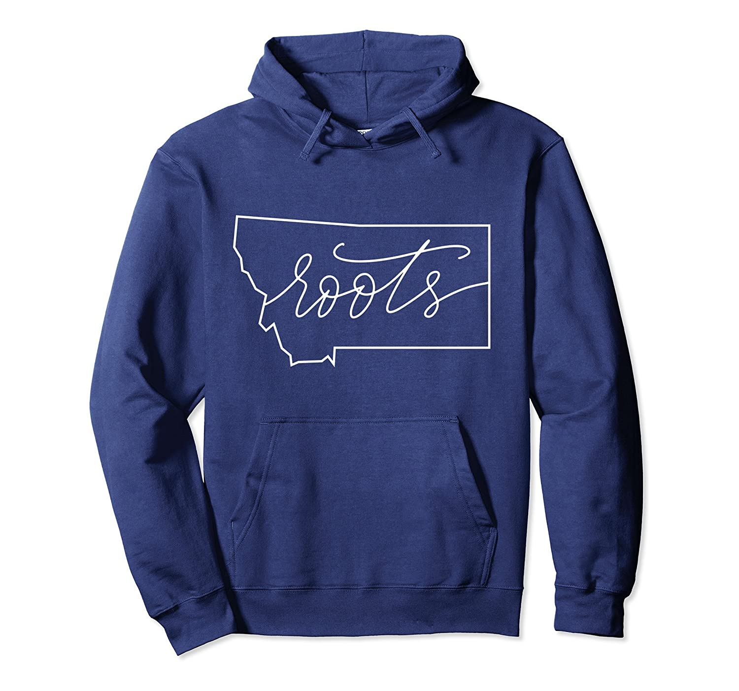 Roots Montana Hoodie State Local Pride Gift Mom Mama-Colonhue