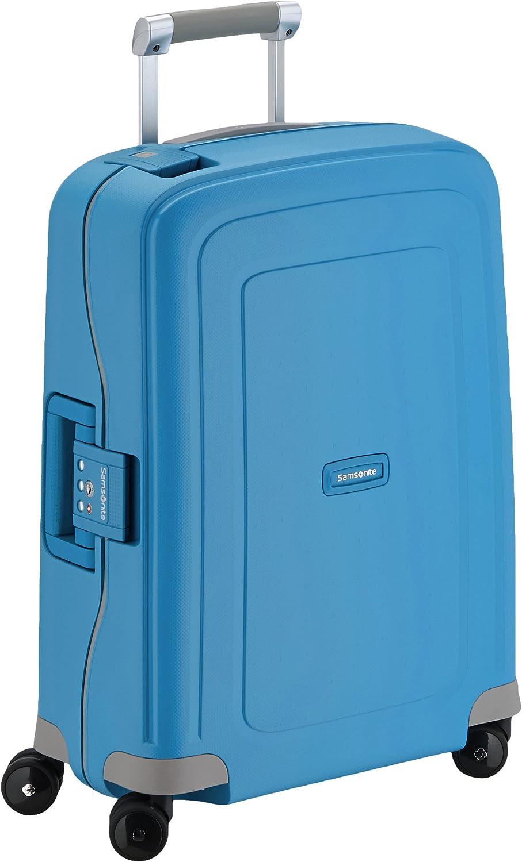 Samsonite S'cure - Equipaje de mano, Azul (Pacific Blue), S (55cm-34L)