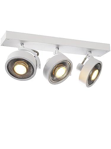 slv kalu  SLV Kalu 3 Qpar Ceiling Light, White: Amazon.: Lighting