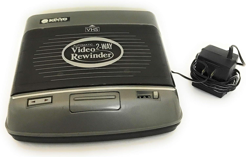 KINYO Autowinder Two-Way VHS Video Rewinder