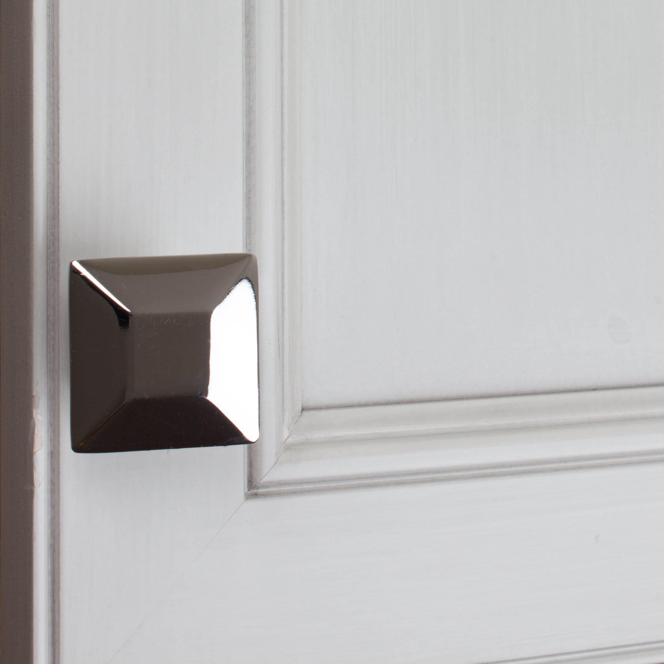 GlideRite Hardware 5101-PC-100 1.375 inch Polished Chrome Square Cabinet Knobs 100 Pack by GlideRite Hardware (Image #4)