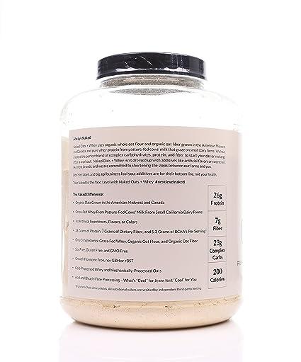 Amazon.com: Naked Avena + Whey – Proteína de Suero de avena ...