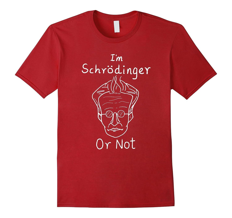 Oviyam Schrodinger's Cat Concept Physics T-Shirt