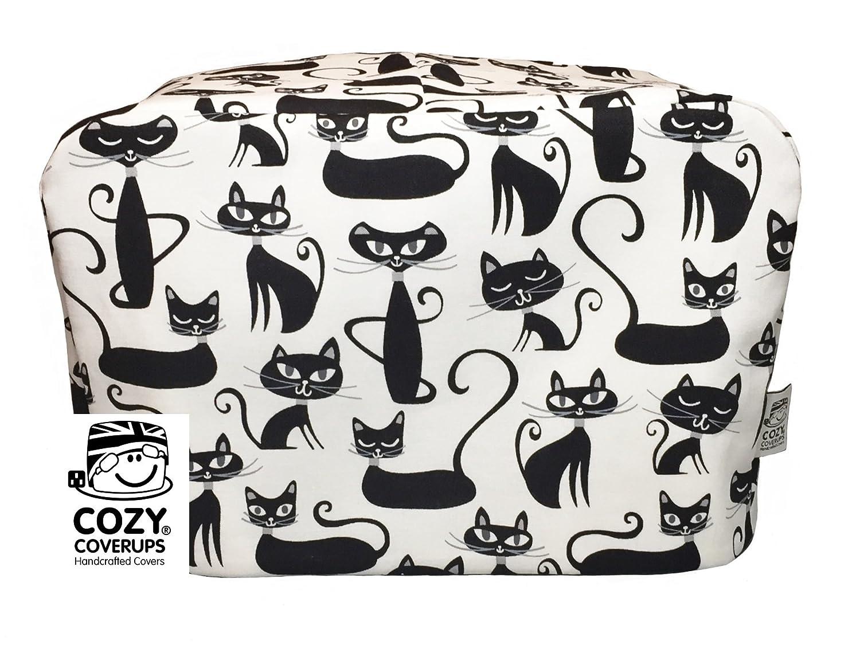 Cozycoverup® copertura antipolvere per cucina in bianco e nero gatti (Andrew James 5L) Coolcozycovers LTD