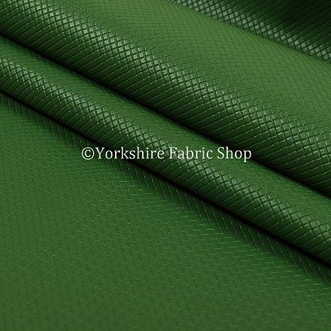 Mini Acolchado Con Textura Liso Piel Resistente En Verde ...