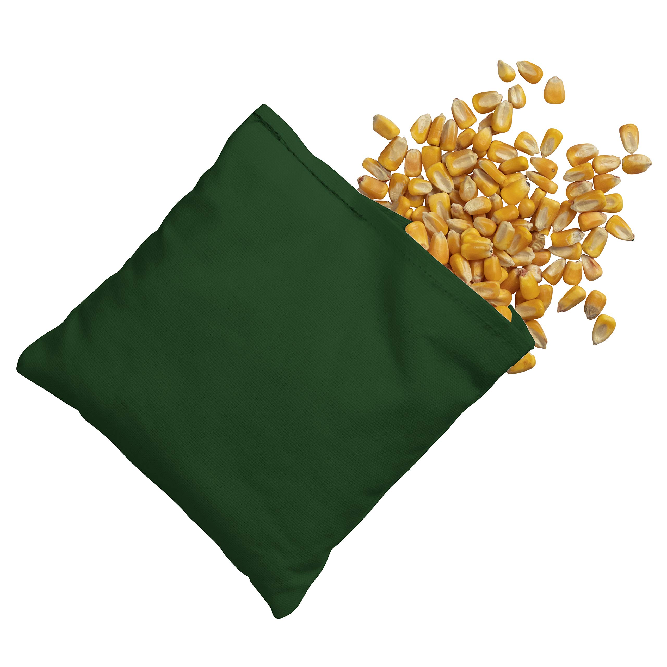 Victory Tailgate 8 Colored Corn Filled Regulation Cornhole Bags with Drawstring Pack (4 Burgundy, 4 Hunter Green) by Victory Tailgate (Image #6)