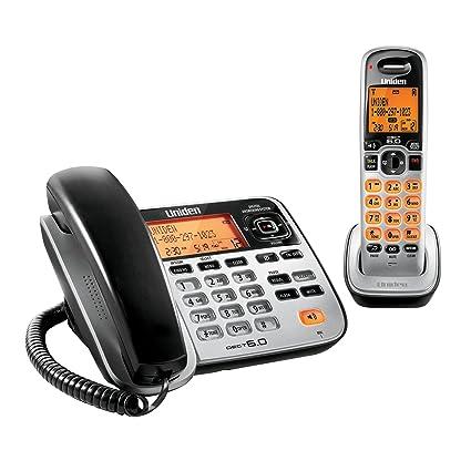 amazon com uniden d1688 corded cordless dect 6 0 landline rh amazon com
