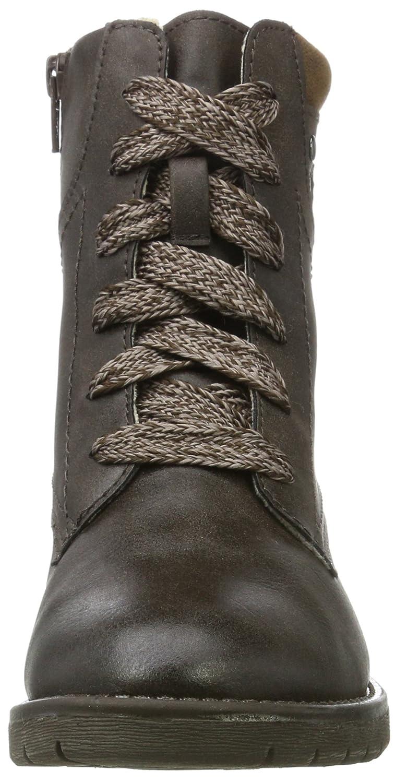 Softline Damen 25261 Combat Braun Stiefel Braun Combat (Mocca) 68888a