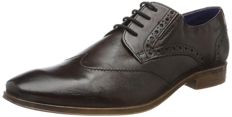 TALLA 44 EU. Bugatti 312402034100, Zapatos de Cordones Derby para Hombre