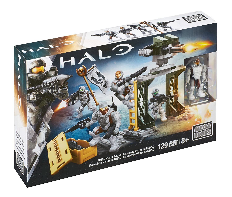 Mega Construx Halo UNSC Victor Squad Mattel CNK26