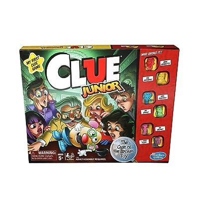 Hasbro Gaming Clue Junior Game: Toys & Games