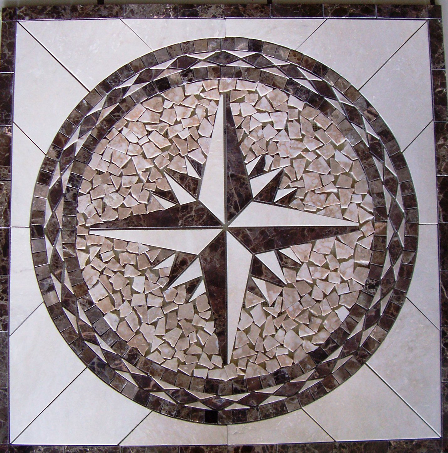 Make An Impact With Tile Medallions