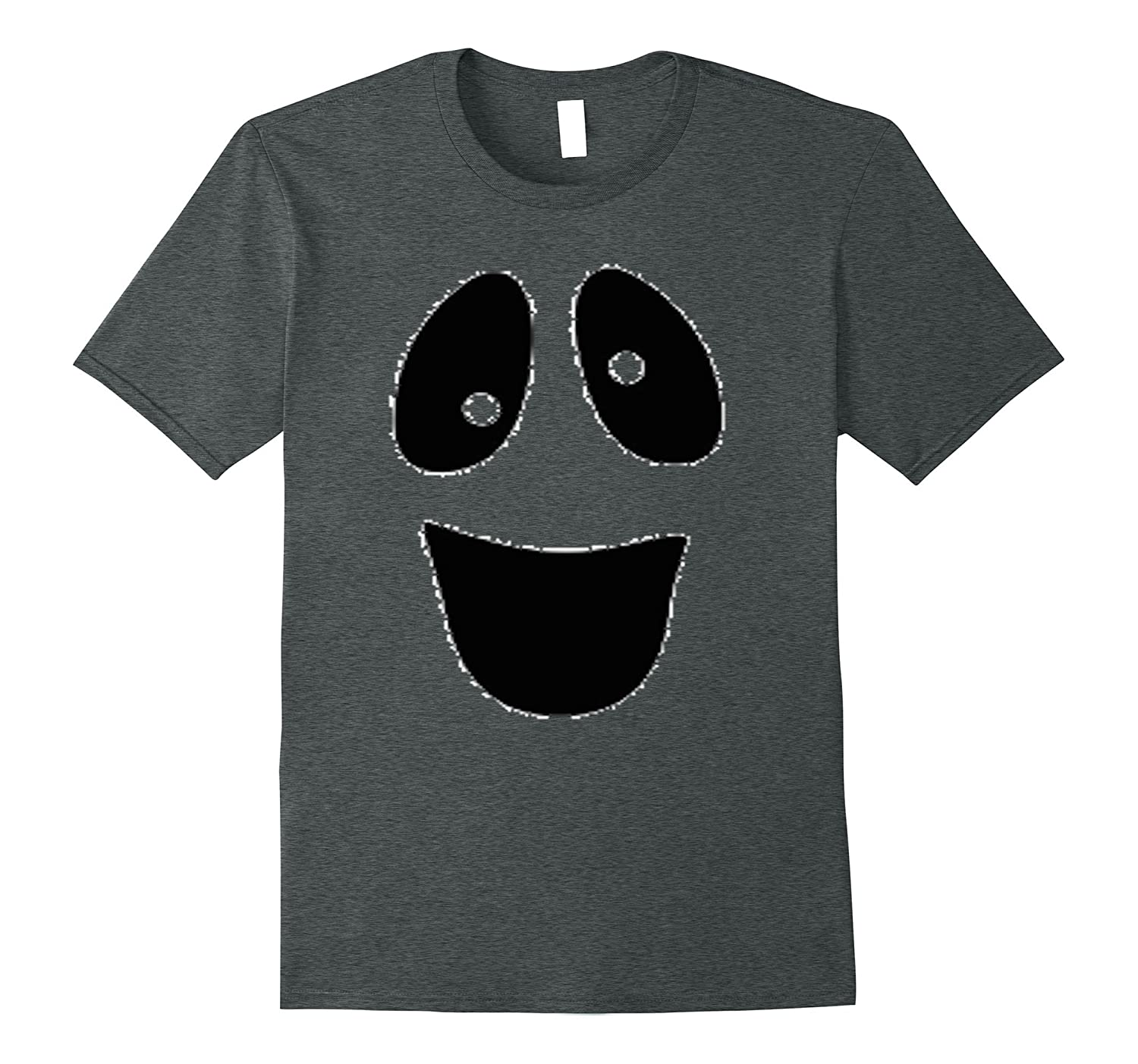 Ghost Face Halloween T-Shirt | Funny Quick & simple costume-BN
