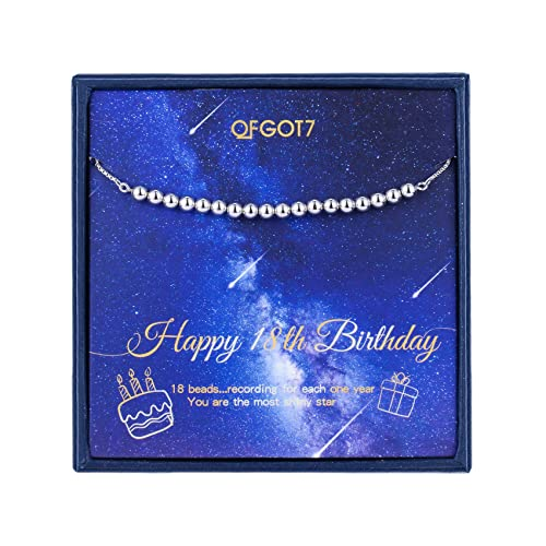 OFGOT7 18 cumpleaños Regalos para Las niñas, Pulsera de 18 ...