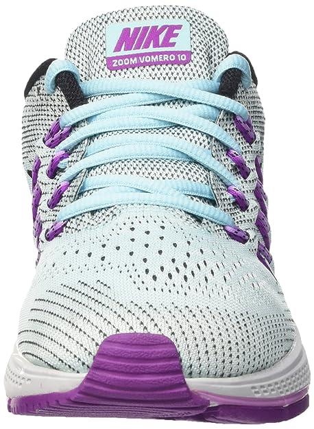 Nike Wmns Air Zoom Vomero 10 - Calzado Deportivo para Mujer, Copa/Vivid Purple-blk-FCHS GLW, Talla 36.5: Amazon.es: Zapatos y complementos