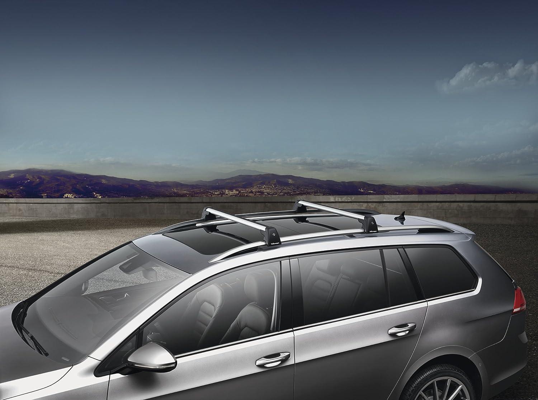 Com 2017 Vw Volkswagen Golf Sportwagen Mk7 Roof Base Carrier Bars Genuine Oem Brand New Automotive