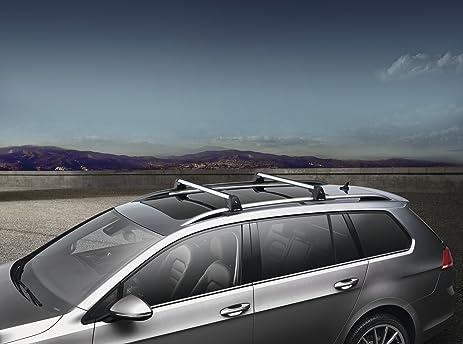 Elegant 2015 VW Volkswagen Golf Sportwagen MK7 Roof Base Carrier Bars GENUINE OEM  BRAND NEW