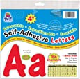 "Pacon Self-Adhesive Letters, Red, Cheery Font, 4"", 154 Characters (51694)"