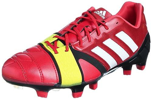 Adidas nitrocharge 1.0 TRX FG Football Boots Shoes, Red, 40 2/3