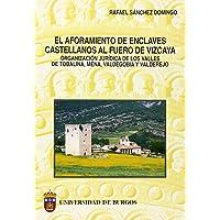 El aforamiento de enclaves castellanos al Fuero de Vizcaya. Organización jurídica de los Valles de Tobalina, Mena, Valdegobía y Valderejo (Estudios y Monografías)