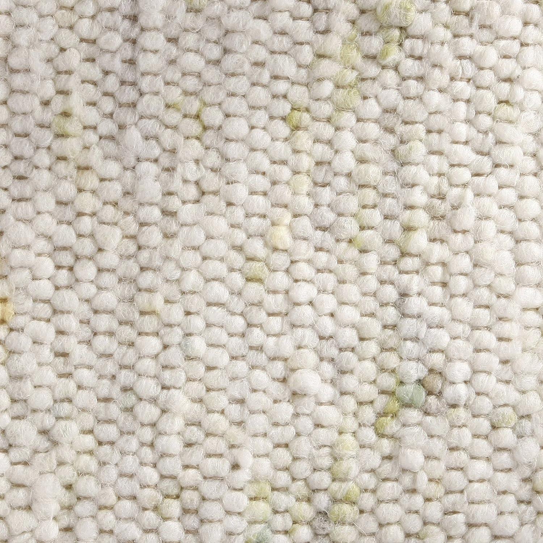 Taracarpet Taracarpet Taracarpet Moderner Landhaus Teppich Handwebteppich Fjord aus hochwertiger Schurwolle beidseitig legbar echte Handarbeit Farbe 1 Natur meliert 070x140 cm B0731B46P4 Teppiche 04306a