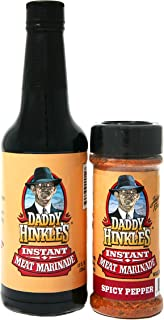 product image for Daddy Hinkle's - Spicy Pepper Marinade Set - Case (6 sets)
