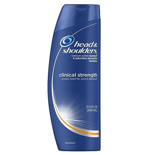 Head and Shoulders Clinical Strength Anti-Dandruff Shampoo 13.5 Fl Oz (Pack of 2)