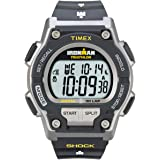 Timex Men's #T5K195 IRONMAN Endure Shock 30-Lap Watch With Grey Resin Band