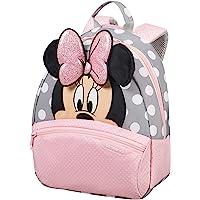 Samsonite Disney Ultimate 2.0 - Mochila Infantil, 7 l, Multicolor (Minnie Glitter), S (28.5 x 23.5 x 13.5 cm)